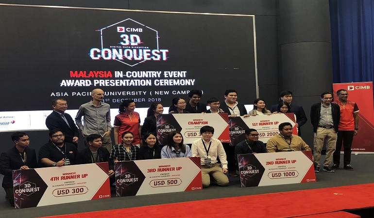 Teams to Hack it Out in Inaugural CIMB 3D Conquest